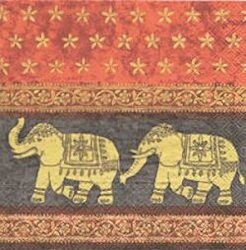 ANI010 ELEPHANTS MARANI BLACK