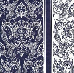 DIV179 ROYAL PATTERN BLUE