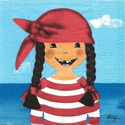 ENF062 LA FILLE PIRATESSE
